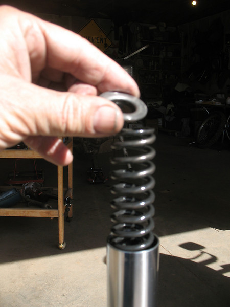 Renewing the fork seals on #3 KLR - Kawasaki KLR 650 Forum